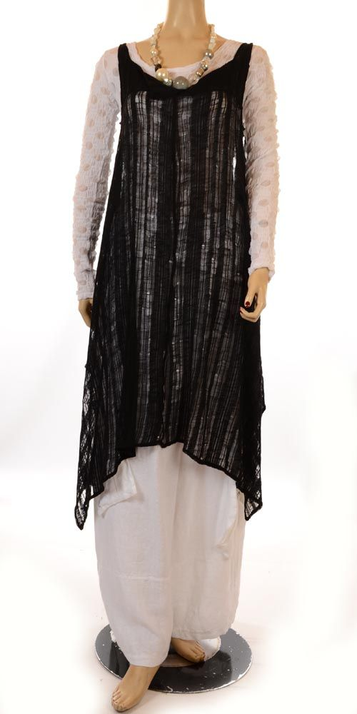 Jean Marc Philippe Multi-Functional Tunic Dress - Various Colours Available-lagenlook, womens plus size UK clothing,