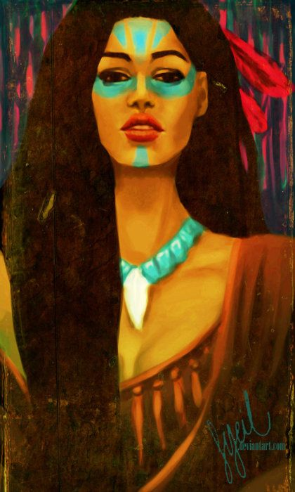 Dirty Disney Dames Beautiful Princess Pocahontas
