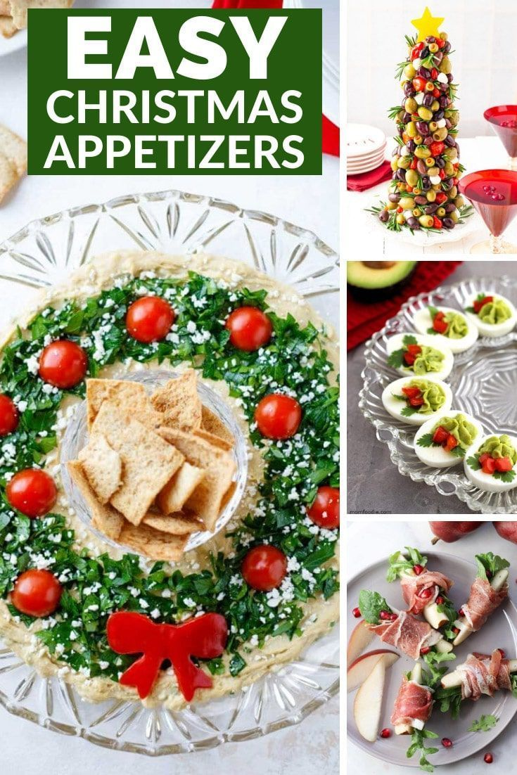 Christmas Appetizers 2020 30+ Easy Christmas Appetizers in 2020 | Christmas appetizers easy