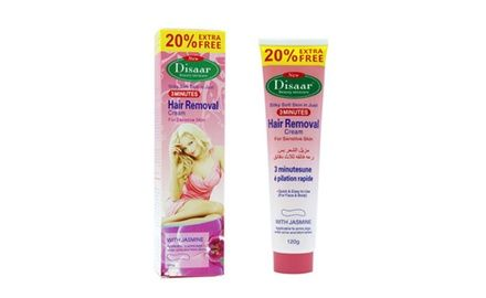 Disaar Hair Removal Inhibitor Depilatory Cream Permanent 120g