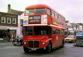 Routemaster bus route 69