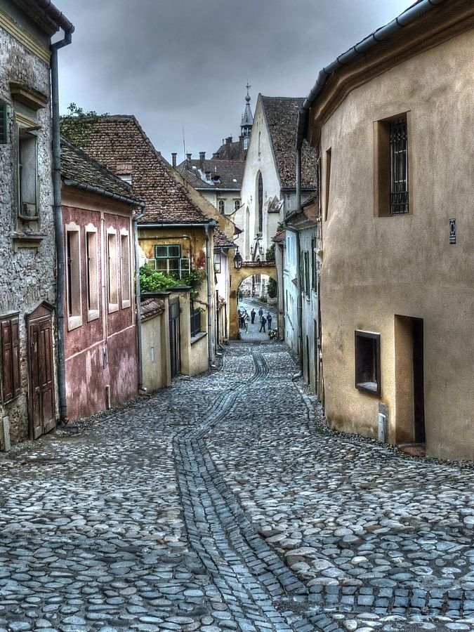 Transylvania street - Romania>> this makes me swoon a little.