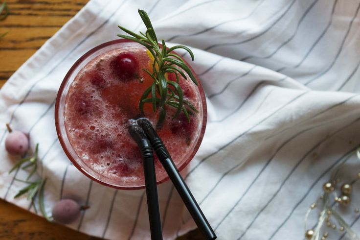 Gooseberry and rosemary drink recipe