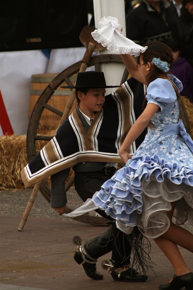 Cueca, Baile Nacional, Chile
