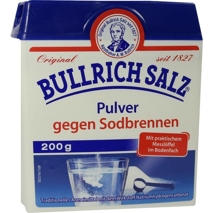 BULLRICH Salz Pulver:   Packungsinhalt: 200 g Pulver PZN: 09504653 Hersteller: delta pronatura Dr. Krauss & Dr. Beckmann KG Preis: 2,02…