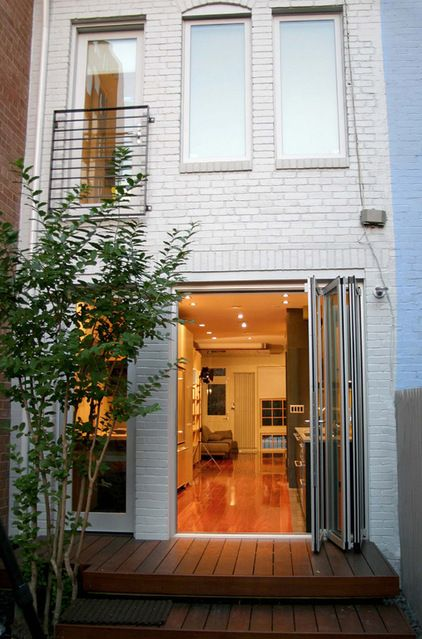 16 Row House Interior Design Ideas: Sliding Doors, Glasses And The Glass On Pinterest