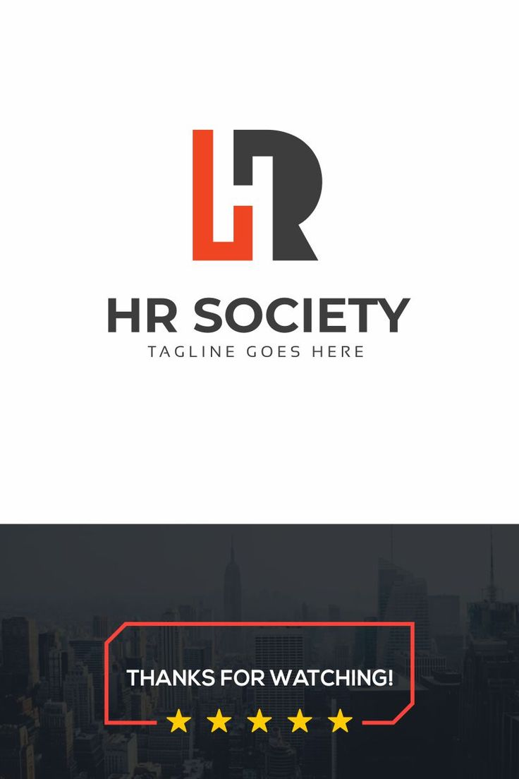 Hr society logo multifunctional logo that can be used in