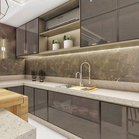 ✔56 modern luxury kitchen design ideas that will inspire you 8 » aesthetecurator.com