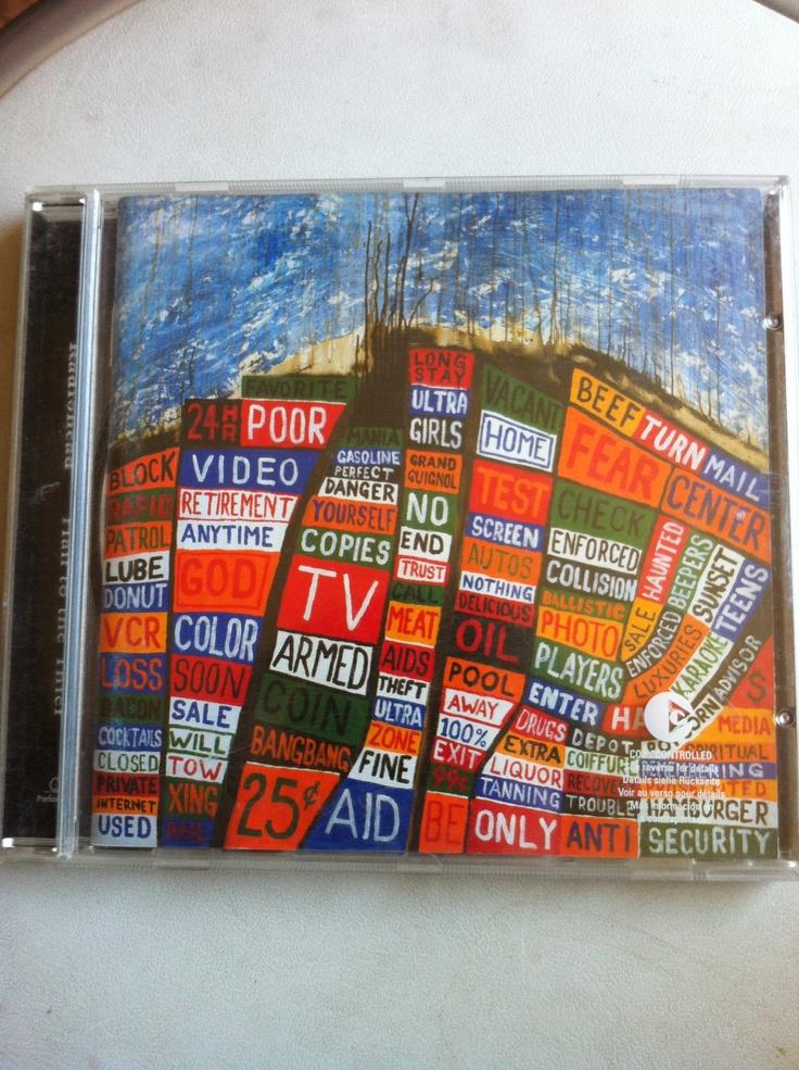 Para muchos el disco más flojo de la banda. Hail To The Thief es el sexto disco de Radiohead y pude comprarlo cuando salió el año 2003. Antes tenía una versión pirata que se había filtrado con las canciones sin mezclar.