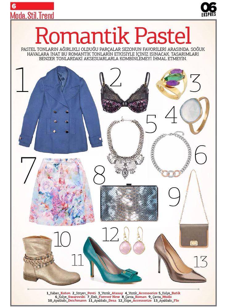 """Moda, Stil ve Trend'in resmini sizler için yaptık!  """"Romantik Pastel"""" yazımız 06 Ekspres #ANKAmall'da!"""