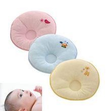 Travesseiro do bebê recém-nascido de algodão do bebê infantis côncavo fronha Prevent cabeça chata bebê kussen 21 cm * 24 cm bebê postioner travesseiros de enfermagem(China (Mainland))