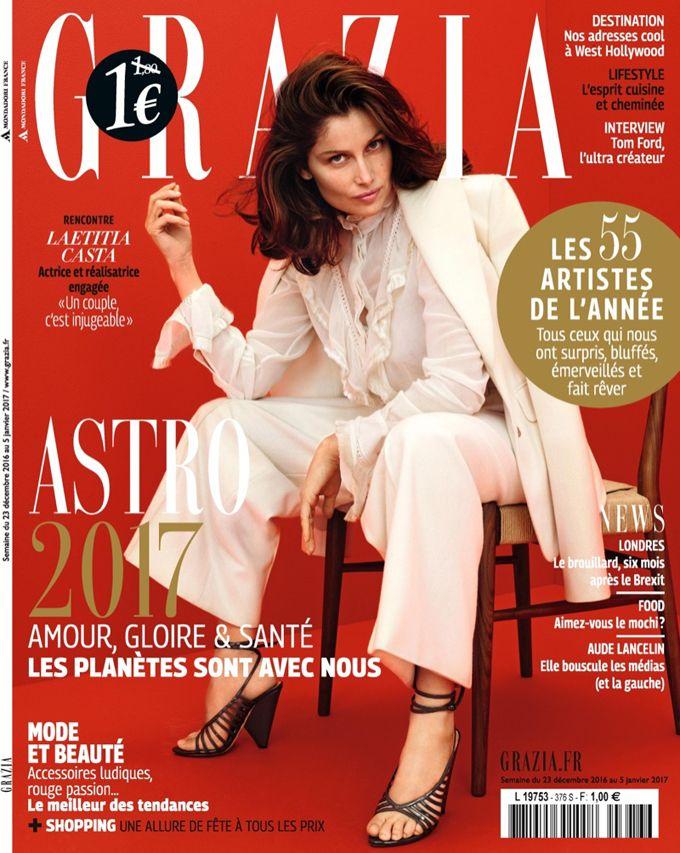 Летиция Каста на обложке Grazia (Интернет-журнал ETODAY)