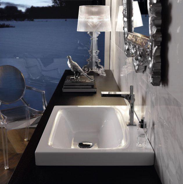 Aufsatzwaschbecken- Waschbecken Bette Lux Detail 1