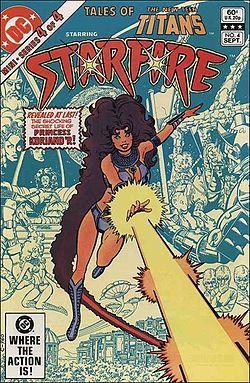 Starfire Comics | Teen Titans Robin and Starfire Comic