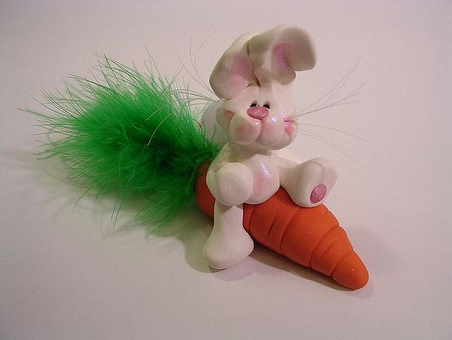 bunny by claykeepsakes, via Flickr