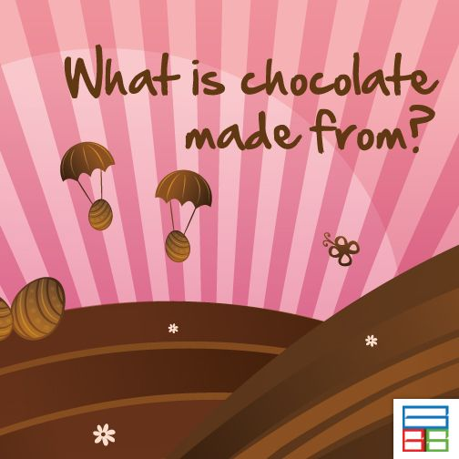 They are called Cocoa Beans. #Quiz #Kids #Knowledge #Brain #GK
