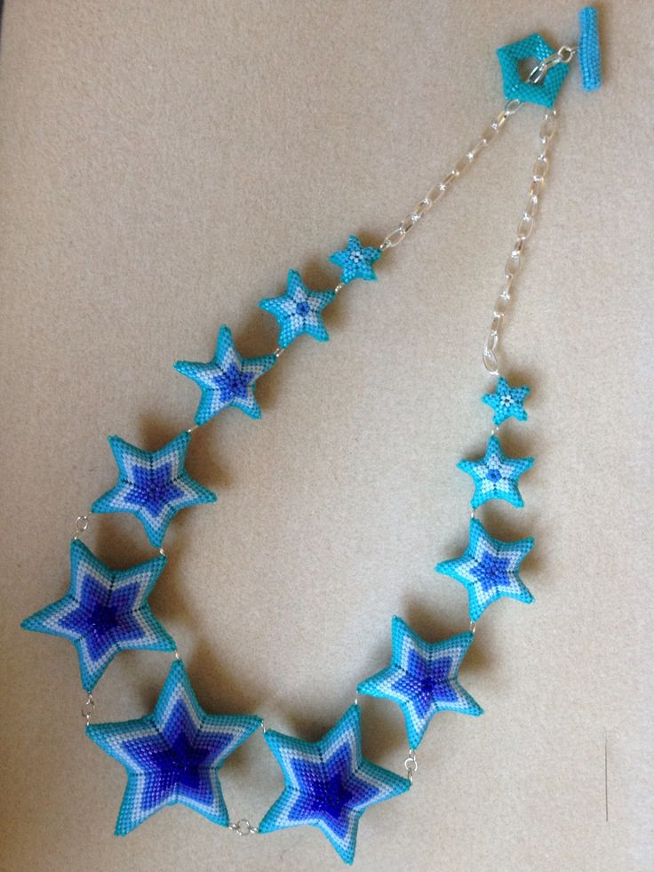 Star necklace - From Jean Power's - nice!!!!