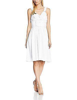UK 6, Weiß (Weiß), Astrapahl Women's Co8007ap Dress, Black NEW