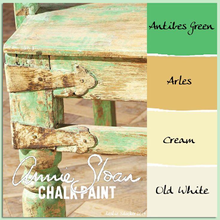 Chalk Paint Kitchen Cabinets Green: 17 Best Images About CHALK PAINT® COLOR MIX {Stylish