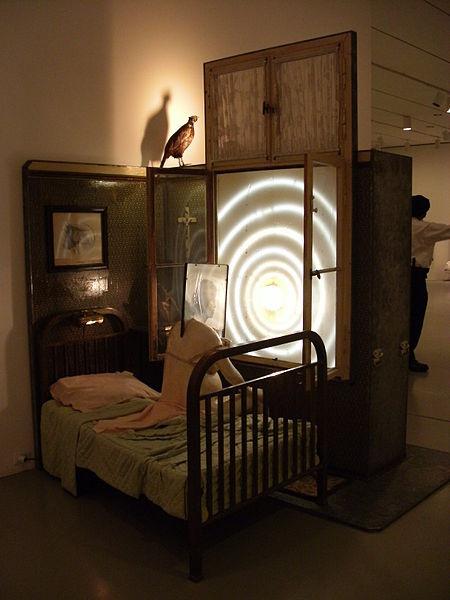 Edward Kienholz art installation.
