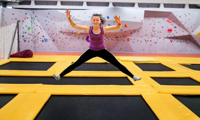 Jump'n Fly - Mörfelden-Walldorf: 1x oder 2x 60 Min. Sprungzeit im Jump'n Fly Trampolinpark (bis zu 27% sparen*)