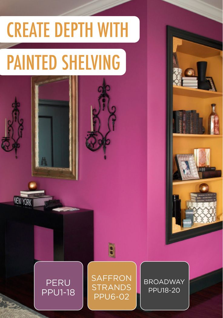 195 best Colorful Rooms and Spaces images on Pinterest | Behr paint ...
