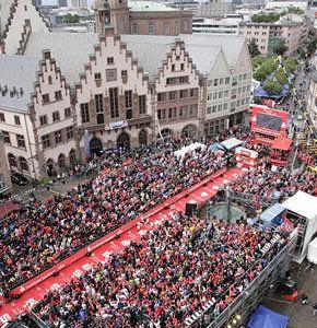 Un mort sur L'IronMan Frankfurt 2015 : hyponatrémie