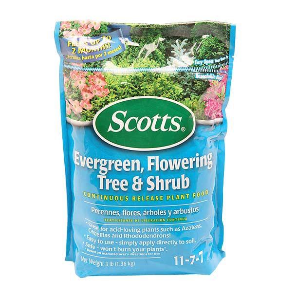 Fertilizante para plantas perennes. Árboles y arbustos. NPK 17-7-7. Fertilizante granulado de liberación controlada. Fertiliza hasta por 2 meses. Fácil de usar. No quema las plantas.