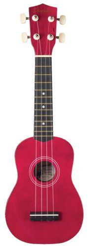 Savannah Color Ukulele with Bag, Red by Savannah. $30.88. The Savannah Ukulele PlayerPac comes with a great-sounding Savannah ukulel and a ukulele chord chard so you can begin playing immediately. The ukulele is available in black, blue, red, green, and yellow, and it comes with a matching carrying bag. With geared tuners and a twelve-fret mahogany fingerboard, this ukulele will stay in tune easily and play comfortably for years. White Wood Soprano Ukulele Geared T...