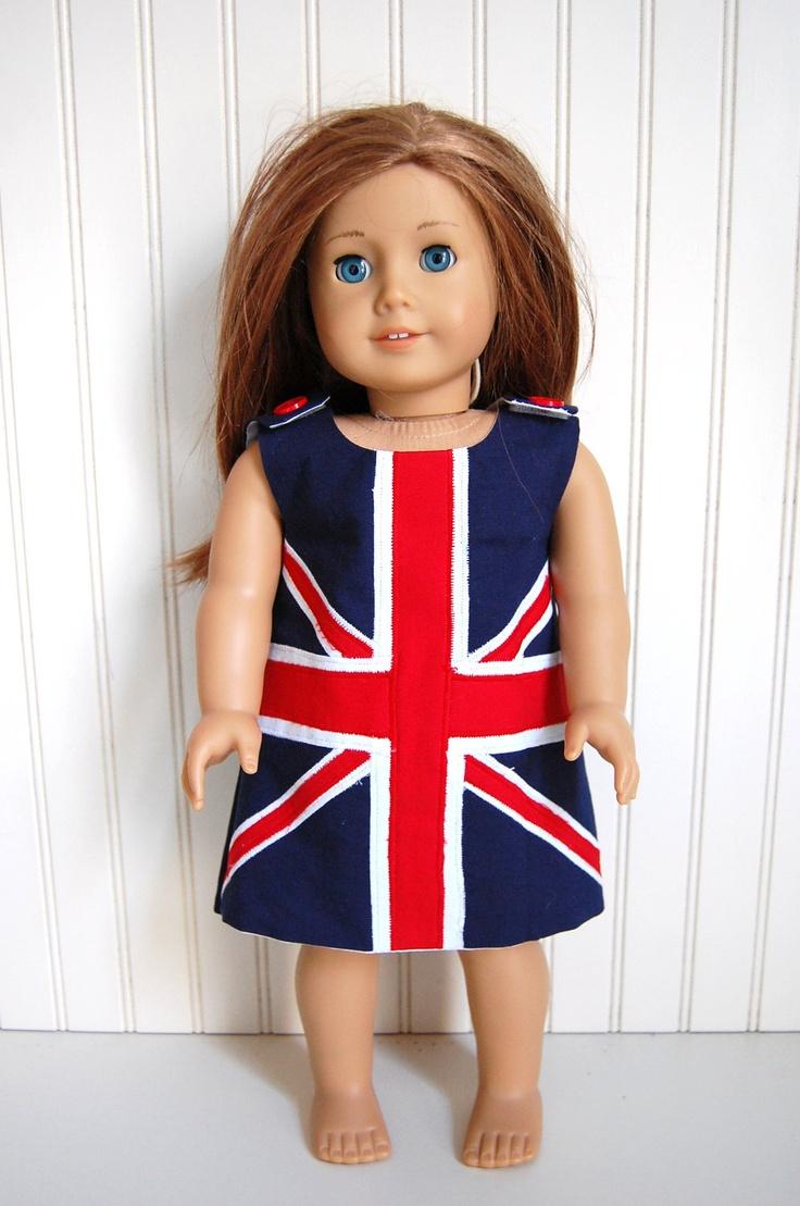 Empress' Secret Closet ~ We purchased this uber trendy British Union Jack Dress,   by thetrendytot via Etsy  Sold 7/26/12 $31.00