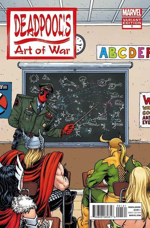 Deadpool's 'Art of War' variant cover