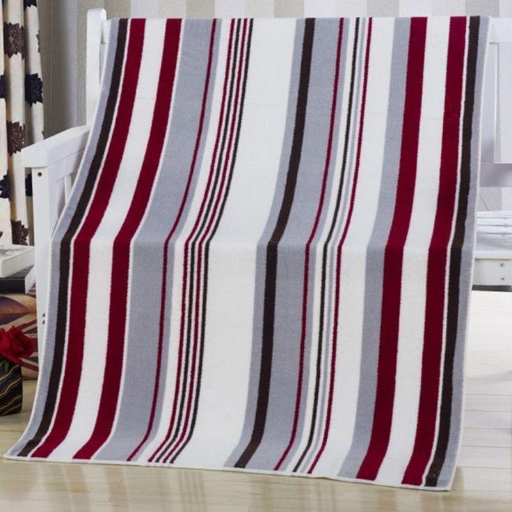 Arrival Bath Towel Striped Tropical Style Towel Unisex Child Adult Washcloth