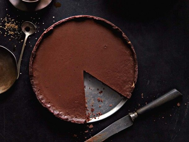Green Chili Chocolate Pie.