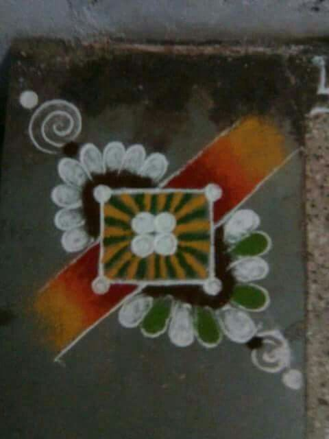17 best images about muggulu on pinterest hindus search for Door rangoli design images