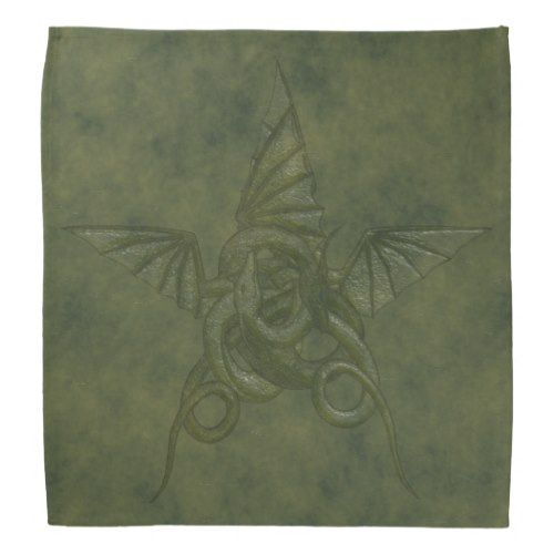 Dragon Star - Embossed Green Leather Image Bandana  Dragon Star - Embossed Green Leather Image Bandana      $17.75   by  Tannaidhe  http://www.zazzle.com/dragon_star_embossed_green_leather_image_bandana-256383027547331533    - - - Check out everything else at my storefront!  http://www.zazzle.com/tannaidhe?rf=238565296412952401&tc=MPPin