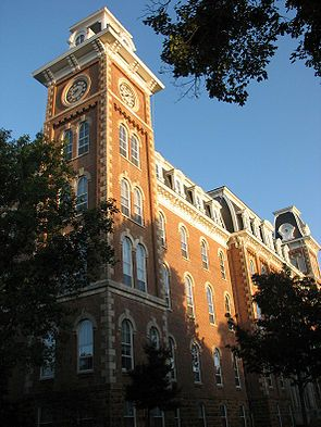 U of A! So many amazing memories here! Beautiful picture of Old Main.