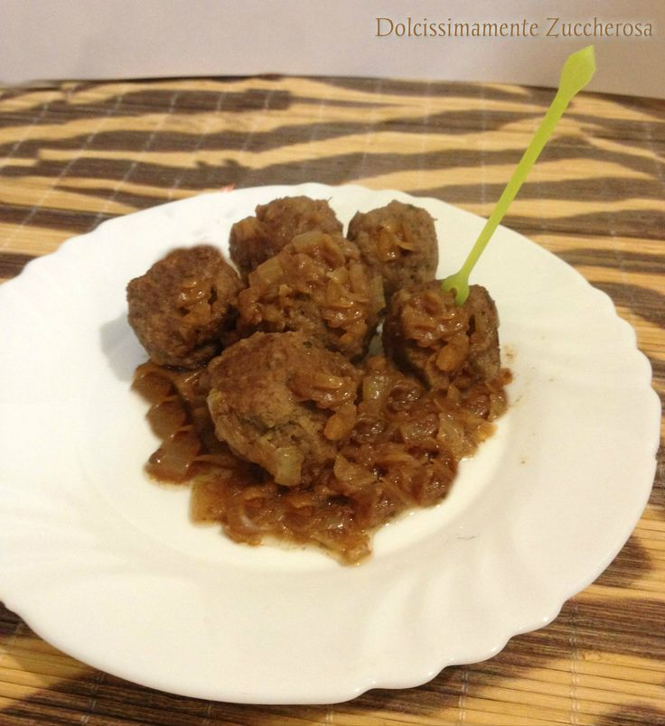 Polpettine alle cipolle ricetta dietetica senza grassi Dukan