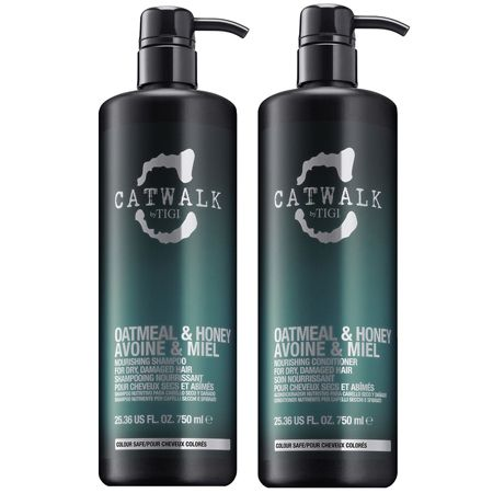 catwalk oatmeal and honey shampoo and conditioner duo