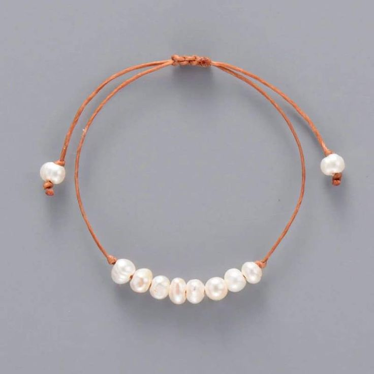 Single Elegant Pearl Bracelet