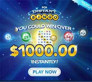 pchbingo.com - PCH Bingo $1,000 Instant Win. PchInstantBingo 2014 - Play PCH Instant Bingo and you could win instantly a $1,000 cash. You can play the Online Bingo Games at...