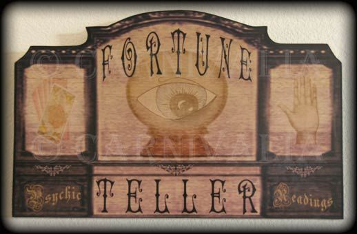 Victorian Fortune Teller by Chas Bogan for Studio Carnivalia