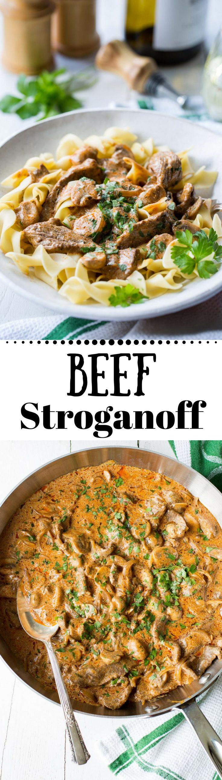 Slow Cooker: Beef Stroganoff