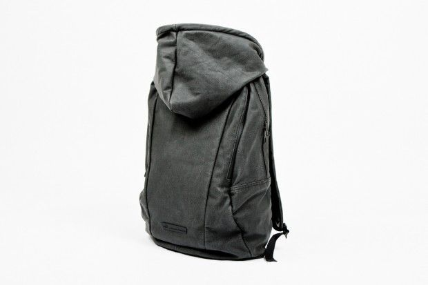 PUMA by HUSSEIN CHALAYAN 2012 Spring/Summer Urban Mobility Backpack: Pumas Hoodie, Back Packs, 2012 Spring Summ, Hussein Chalayan, Mobiles Backpacks, Hoodie Backpacks, Urban Mobiles, Chalayan 2012, Pumas Backpacks