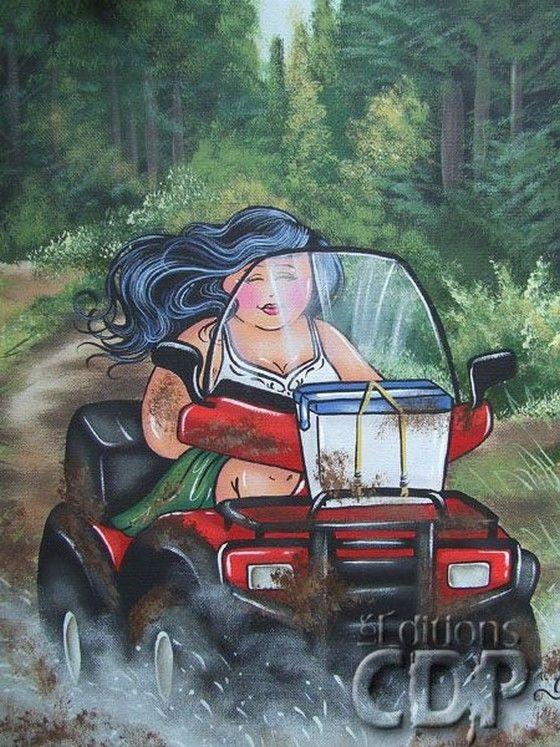 12-Beaux tableaux d'Isabelle Desrochers