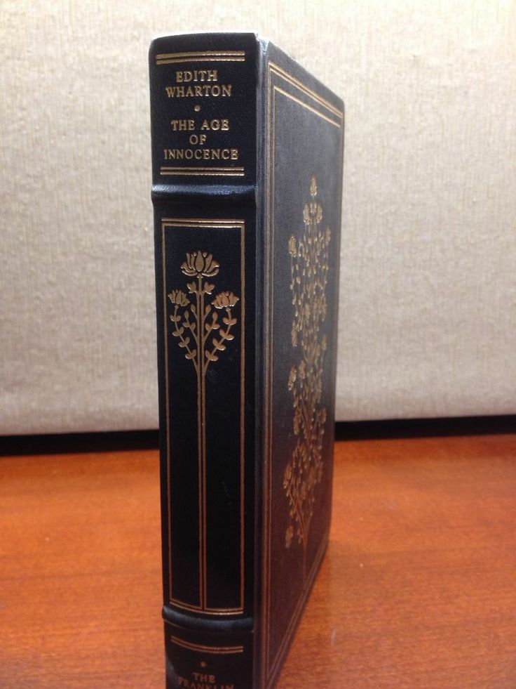 Age of Innocence Edith Wharton Franklin Library Full Leather 100 Greatest Books