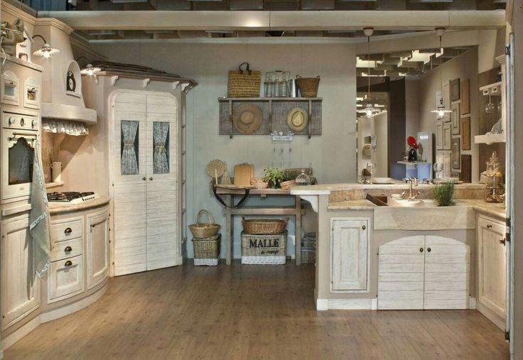465 migliori immagini cucine kitchen country shabby c su - Cucine shabby country ...