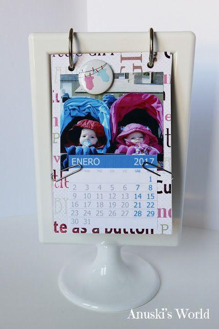 Calendario personalizado 2017 - Anuski´s World