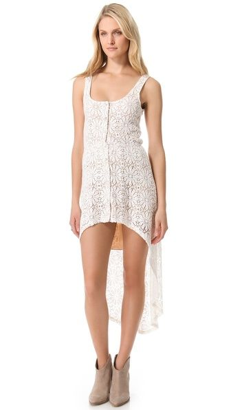 Wicked Games Hi-Lo dress
