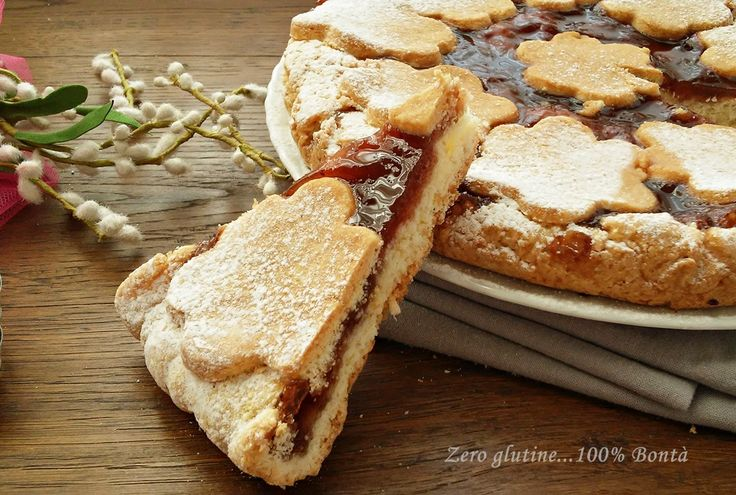 Crostata con marmellata di prugne (senza glutine)