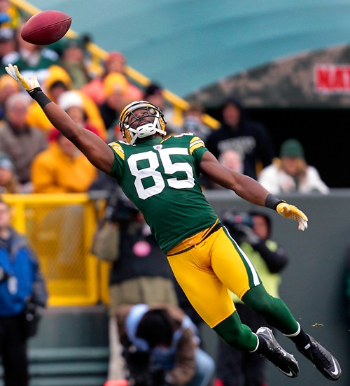 Greg Jennings ... he put the team on his back